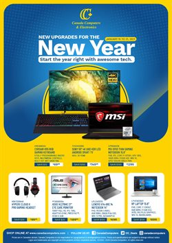Canada Computers catalogue ( Expires today )