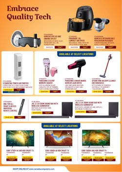 Panasonic deals in the Canada Computers catalogue ( 4 days left)