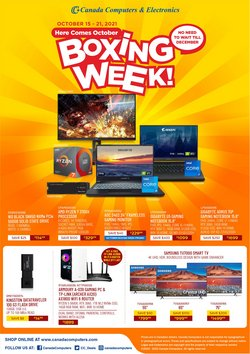 Electronics deals in the Canada Computers catalogue ( Expires tomorrow)