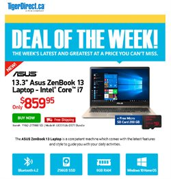 Electronics offers in the TigerDirect catalogue in Toronto