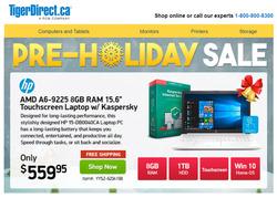 TigerDirect deals in the Toronto flyer