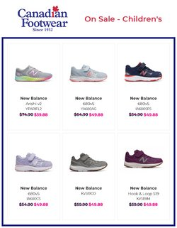 Canadian Footwear deals in the Canadian Footwear catalogue ( 21 days left)