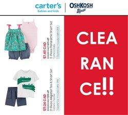Kids, Toys & Babies deals in the Carter's OshKosh catalogue ( Expires tomorrow)
