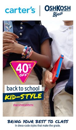 Kids, Toys & Babies deals in the Carter's OshKosh catalogue ( 2 days left)