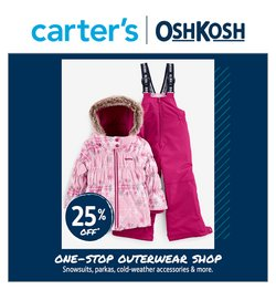 Kids, Toys & Babies deals in the Carter's OshKosh catalogue ( 6 days left)