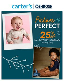 Kids, Toys & Babies deals in the Carter's OshKosh catalogue ( 1 day ago)