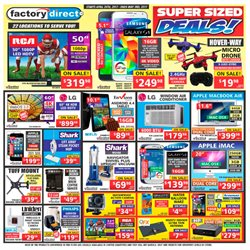Electronics & Appliances offers in the Factory Direct catalogue in Hamilton
