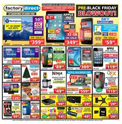 Electronics & Appliances offers in the Factory Direct catalogue in Toronto
