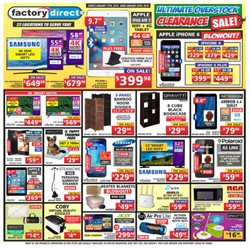Factory Direct deals in the Toronto flyer