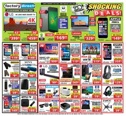 Factory Direct deals in the Gatineau flyer