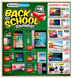 Electronics offers in the Factory Direct catalogue in Buckingham