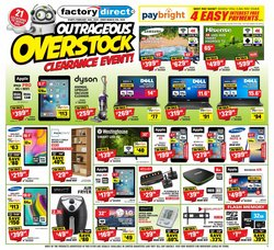 Electronics offers in the Factory Direct catalogue in St. Catharines ( 3 days ago )