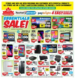 Electronics offers in the Factory Direct catalogue in Toronto ( 2 days left )