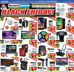 Factory Direct catalogue ( Expires today )