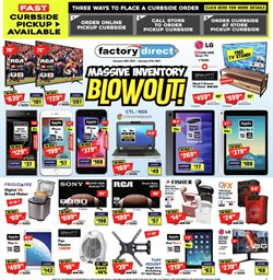 Electronics offers in the Factory Direct catalogue ( 2 days left )