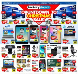 Factory Direct deals in the Factory Direct catalogue ( More than a month)