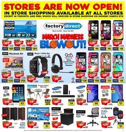 Factory Direct catalogue ( 3 days left )