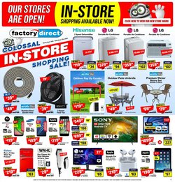 Electronics deals in the Factory Direct catalogue ( Expires today)