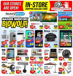 Electronics deals in the Factory Direct catalogue ( Expires tomorrow)
