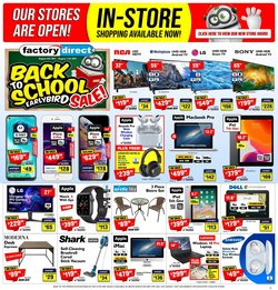 Electronics deals in the Factory Direct catalogue ( 1 day ago)