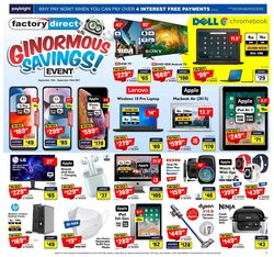 Electronics deals in the Factory Direct catalogue ( 3 days left)