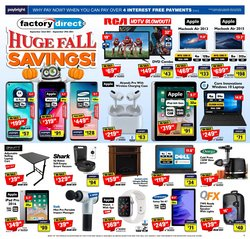 Electronics deals in the Factory Direct catalogue ( 5 days left)