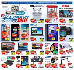 Electronics deals in the Factory Direct catalogue ( 2 days left)