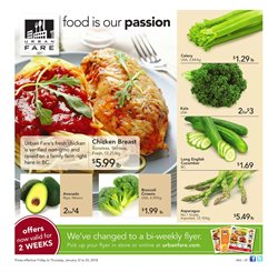 Urban Fare deals in the Vancouver flyer