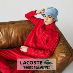 Luxury Brands deals in the Lacoste catalogue ( More than a month)