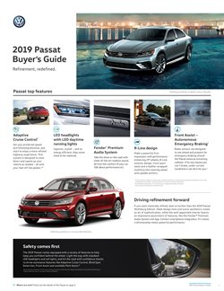 Cars, motorcycles & spares offers in the Volkswagen catalogue in Parksville