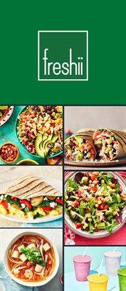 Restaurants offers in the Freshii catalogue ( 23 days left )