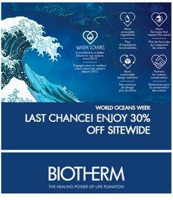 Pharmacy & Beauty deals in the Biotherm catalogue ( Expires tomorrow)