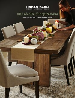 Home & furniture offers in the Urban Barn catalogue in Saint-Jérôme