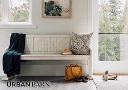 Urban Barn deals in the Urban Barn catalogue ( 3 days left)