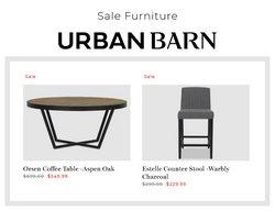 Urban Barn deals in the Urban Barn catalogue ( 8 days left)