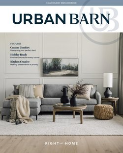 Home & Furniture deals in the Urban Barn catalogue ( Published today)