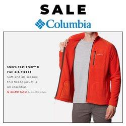 Columbia Sportswear deals in the Columbia Sportswear catalogue ( 30 days left)