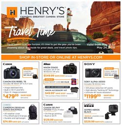 Electronics & Appliances offers in the Henry's catalogue in Kingston
