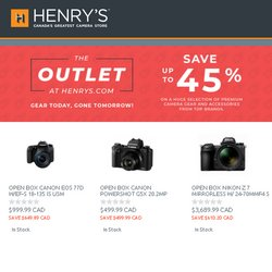 Henry's catalogue ( Expired )