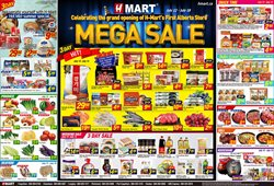 Hmart deals in the Coquitlam flyer