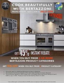 Trail Appliances deals in the Vancouver flyer
