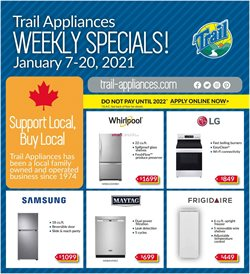 Trail Appliances catalogue ( Expired )