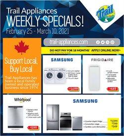 Trail Appliances catalogue ( 9 days left )