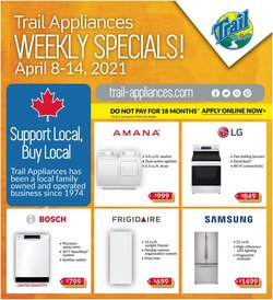 Trail Appliances catalogue ( 2 days left )
