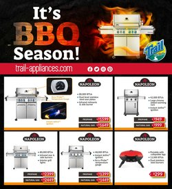 Electronics deals in the Trail Appliances catalogue ( Expires tomorrow)