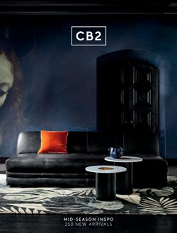 CB2 deals in the Toronto flyer