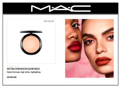 MAC Cosmetics deals in the MAC Cosmetics catalogue ( More than a month)
