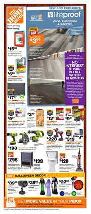 Home Depot deals in the London flyer