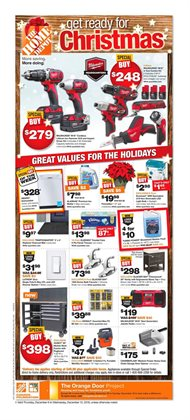 Home Depot deals in the Toronto flyer