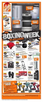 Home Depot deals in the Cornwall flyer